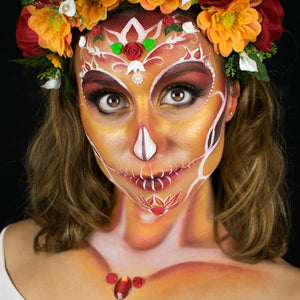 Video Tutorial: Calavera Makeup by Marta Ortega