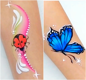 Quick Bug Designs: Ladybug and Butterfly by Marta Ortega