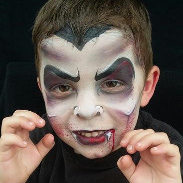 Top 2 Dracula Face Paint Designs: How to Face Paint Dracula