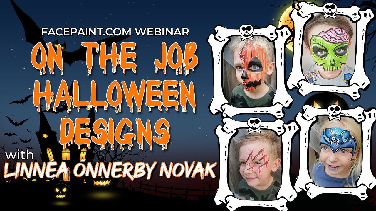 Webinar: On the Job Halloween Designs with Linnéa Önnerby Novak