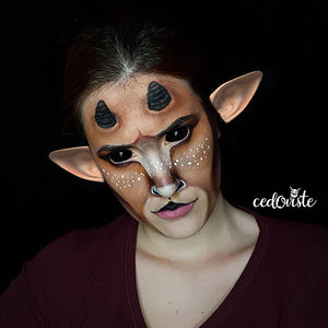 Pan Face Paint Video by Ana Cedoviste