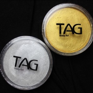 Product Review: TAG Gold & Silver Pearl Face Paint