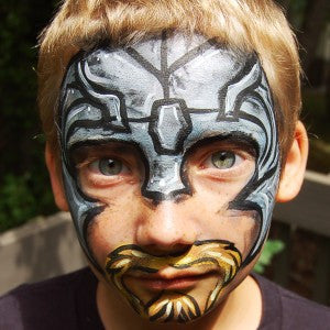 How to Face Paint Thor! A Warrior's Choice