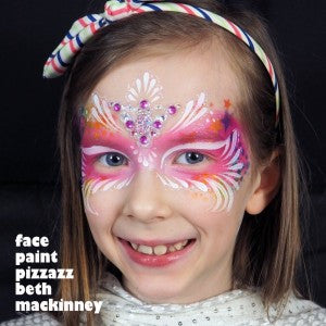 Brilliant Birthday Bling Mask Tutorial