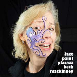 Video Tutorial: Purple Cartoon Octopus