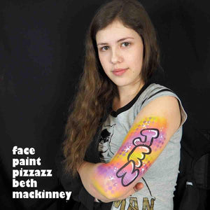 Video: personalized graffiti arm tutorial