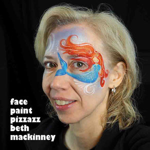 Mermaid Mask Tutorial by Beth MacKinney