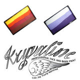 Kryvaline Single Stroke Rainbow Split Cakes (30 gm)