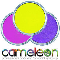 Cameleon Neon Single Color Cakes