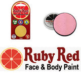 Ruby Red Face Paint