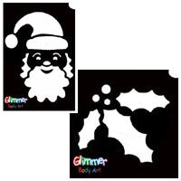 Christmas & Holidays Glitter Tattoos