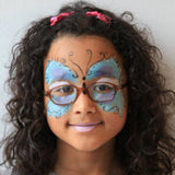 Butterfly & Flowers Face Paint Kits