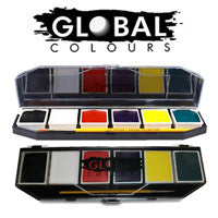 Global Colours Face Paint Palettes