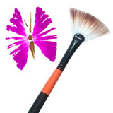 Fan Face Painting Brushes