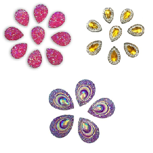 Art Factory Glitter Gems