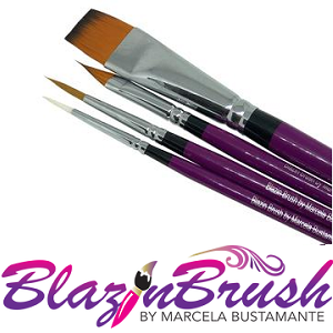 Blazin Brushes By Marcela Bustamante