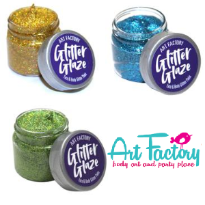 Art Factory Glitter Glaze