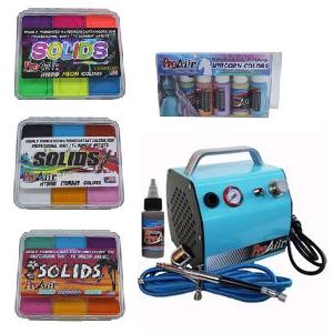 ProAiir Solids Palettes & Airbrush Kits