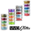 5 Piece Glitter Stacks