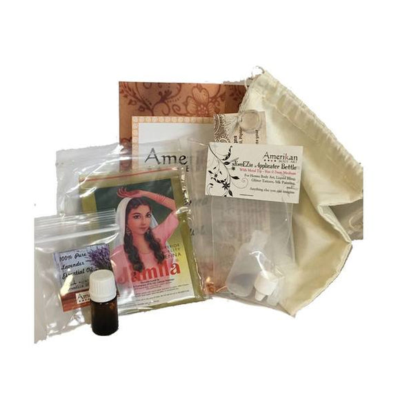 Amerikan Body Art Henna Kits