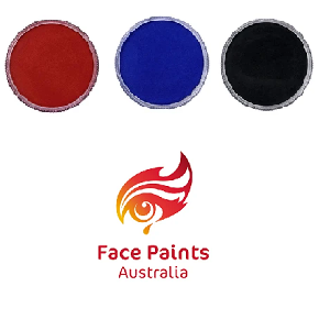 Face Paints Australia Essential Colors