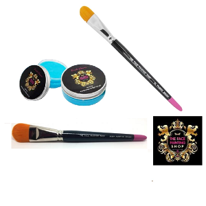 The Face Painting Shop Brushes