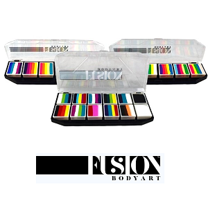 Fusion Body Art Spectrum Face Painting Palettes