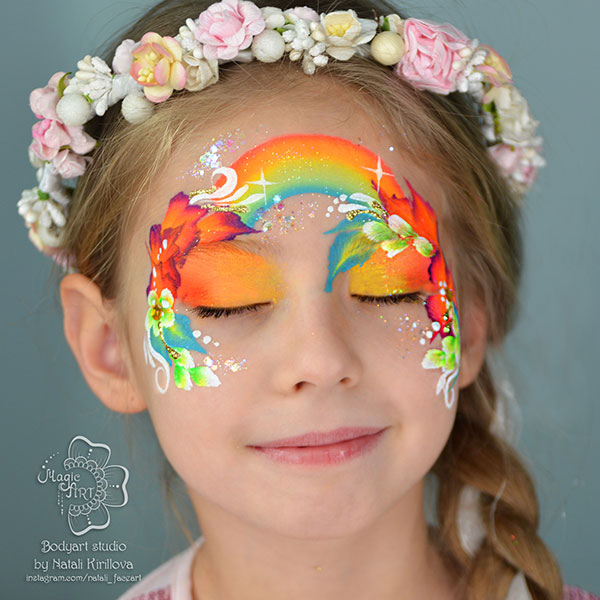 Natalia Kirilova Rainbow Crown