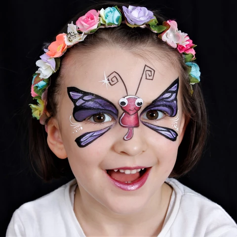 Dragonfly Face Paint