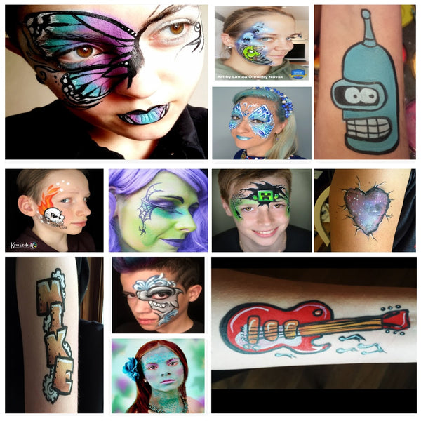 Easy Face Paint Ideas for Teens