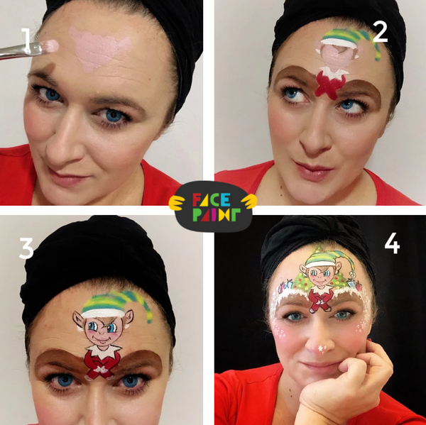 Elf Face Paint Design