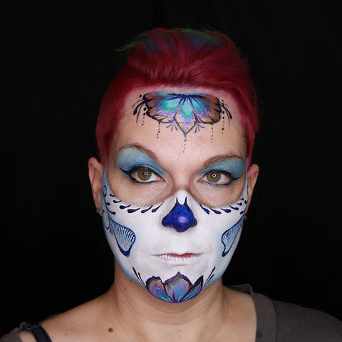Sugar Skull tutorial by Stacey Perry