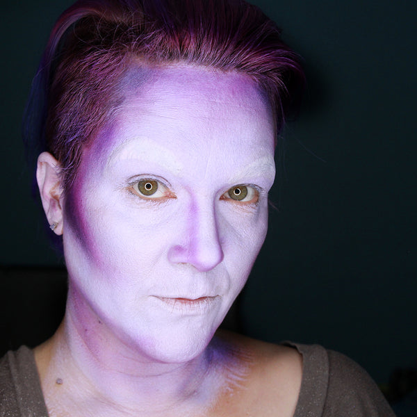 Ursula Face Paint Tutorial by Stacey Perry