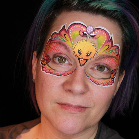 Spring Mask Tutorial by Stacey Perry