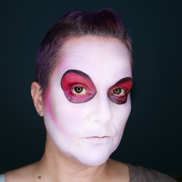 UV Sugar Skull Makeup by Stacey Perry