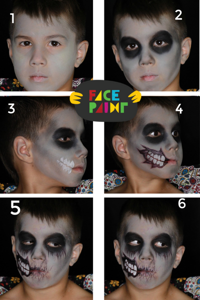 Halloween Zombie Kid Friendly