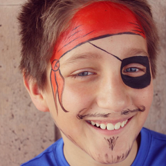 Pirate Face Paint