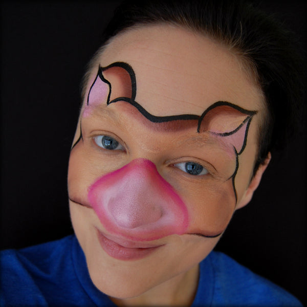 warthog tutorial by artist ashlie alvey facepaint com