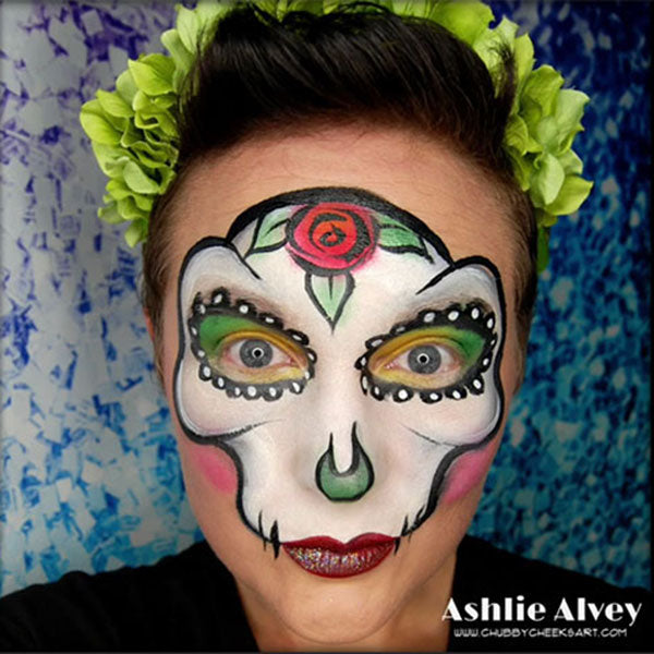Sugar Skull by Ashlie Alvey