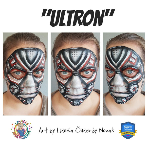 Ultron Makeup by Linnéa Önnerby Novak