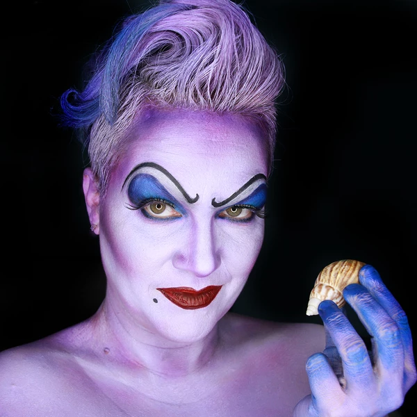 Ursula Face Paint Design