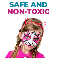 Safe & Non Toxic Face Paints