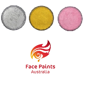 Face Paints Australia Metallix Face Paints