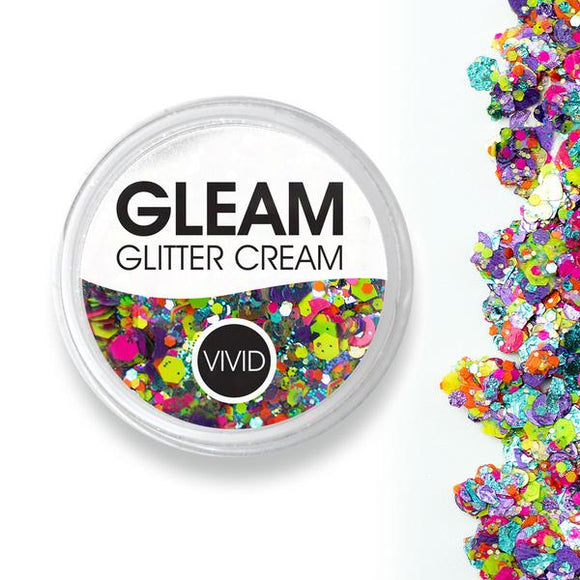 VIVID Gleam Chunky Glitter Cream - Aloha (10 gm)