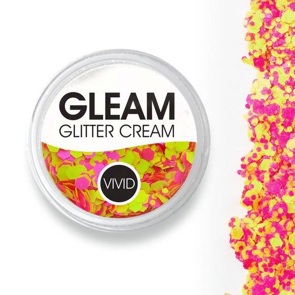 VIVID Gleam Chunky Glitter Cream - Antigravity UV