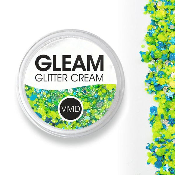 VIVID Gleam Chunky Glitter Cream - Breeze