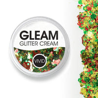 VIVID Gleam Chunky Glitter Cream - Christmas Miracle