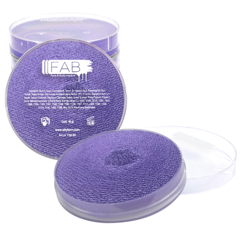 FAB Purple Face Paint - Crystal Jubilee 234 (45 gm)