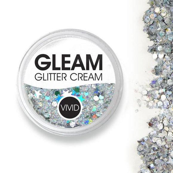 VIVID Gleam Chunky Glitter Cream - Heaven (10 gm)