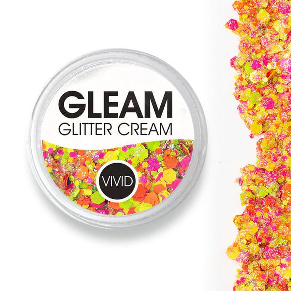 VIVID Gleam Chunky Glitter Cream - Lava Pool